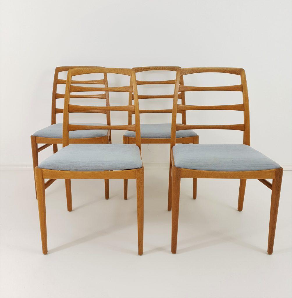 Swedish Oak Dining Chairs by Bertil Fridhagen for Bodafors, M-50319