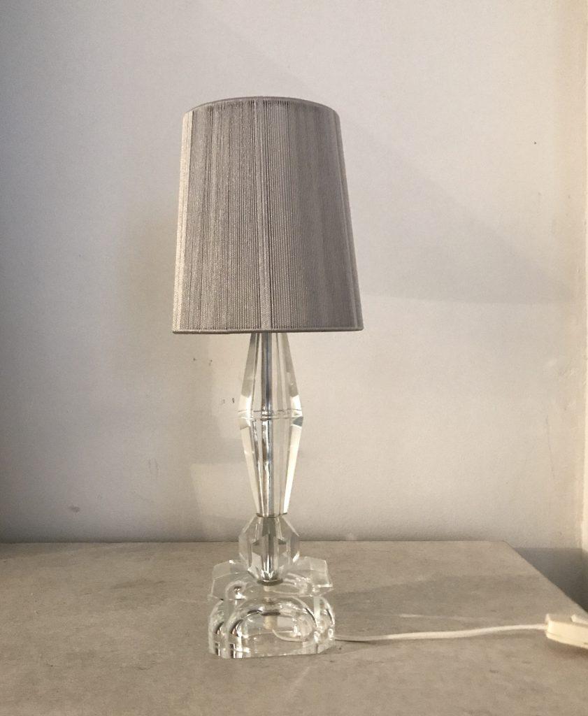 Crystal table lamp, A-72