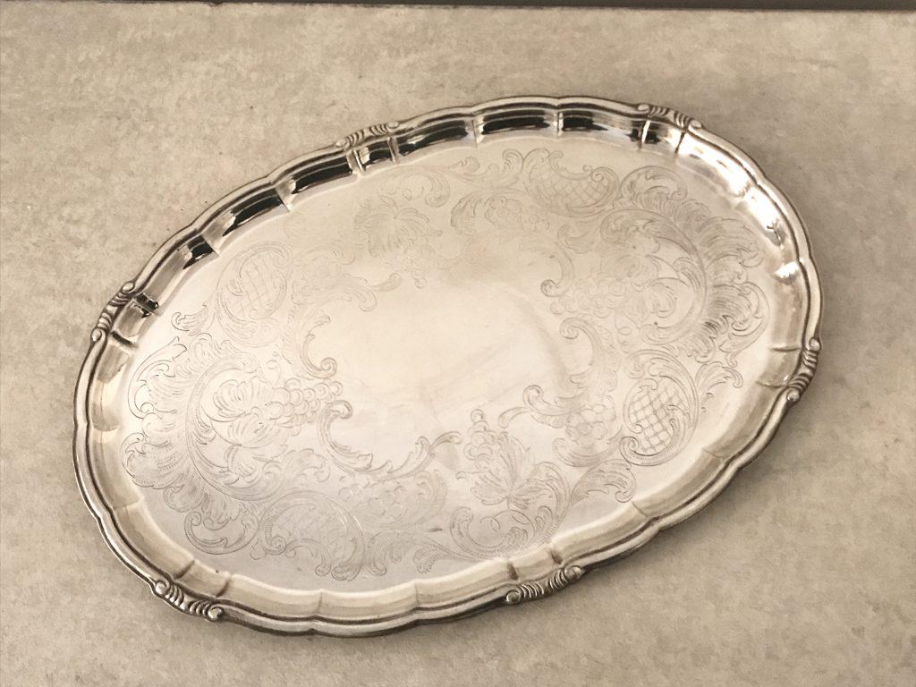 Swedish oval tray from Hallberg Extra Salp, A-520