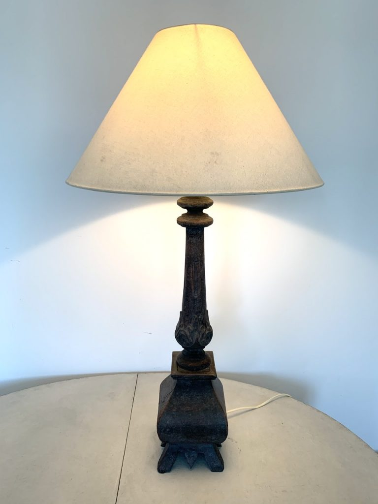 Wooden Table Lamp, Sweden A-980