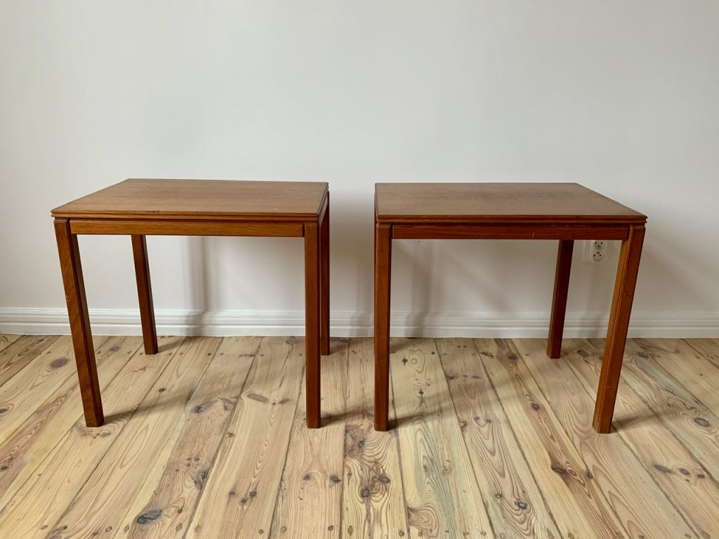 Pair of vintage tables, Sweden, M-20501